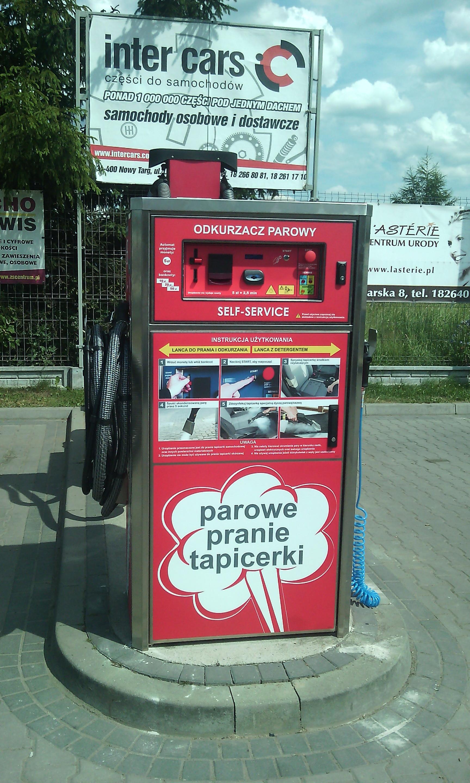 New machine in Nowy Targ.