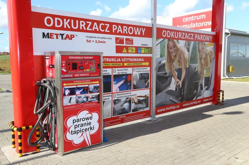 New installation of our machine in Malbork.